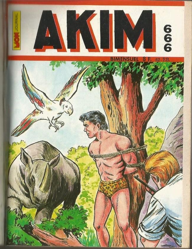 Couverture de Akim (1re série) -666- Les syllabes magiques