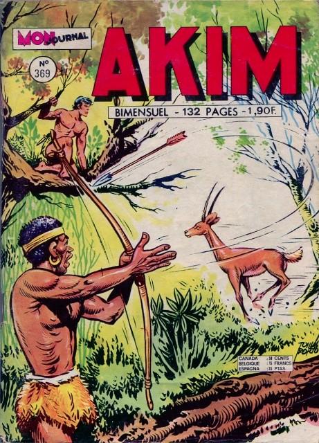 Couverture de Akim (1re série) -369- La pierre tombée du ciel