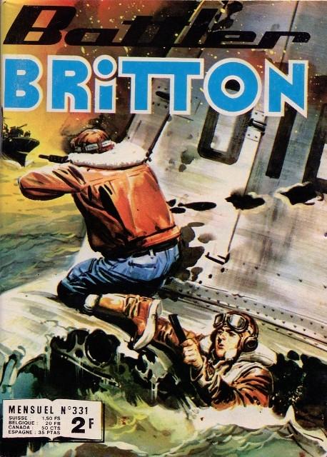 Couverture de Battler Britton -331- Escadrille disciplinaire
