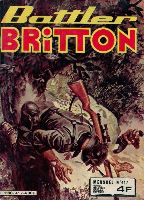 Couverture de Battler Britton -417- Les pilotes souriants