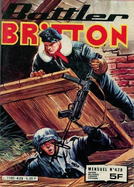 Couverture de Battler Britton -428- Cauchemar