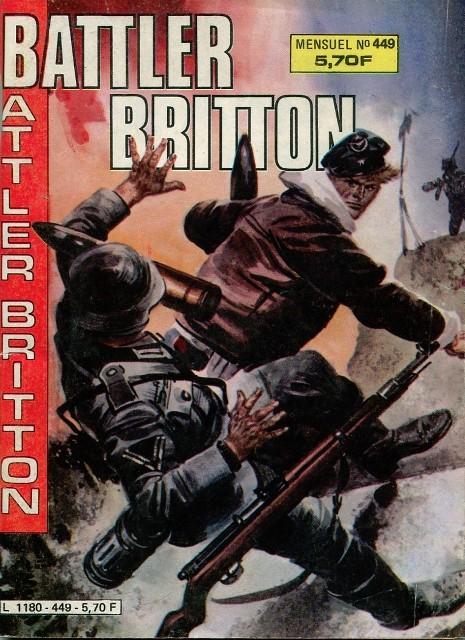 Couverture de Battler Britton (Imperia) -449- Base avancée