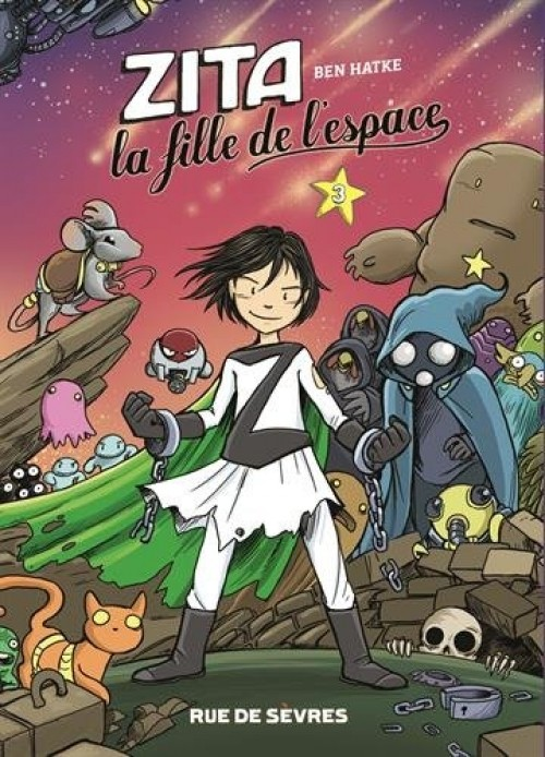 Couverture de Zita la fille de l'espace - Tome 3