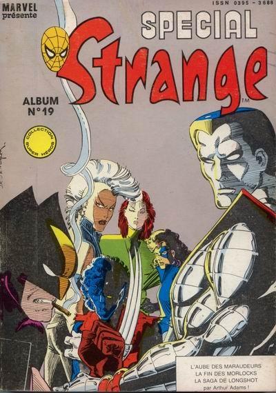 Couverture de Spécial Strange -Rec19- Album N°19 (du n°55 au n°57)