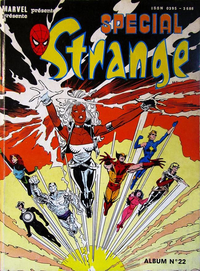 Couverture de Spécial Strange -Rec22- Album N°22 (du n°64 au n°66)