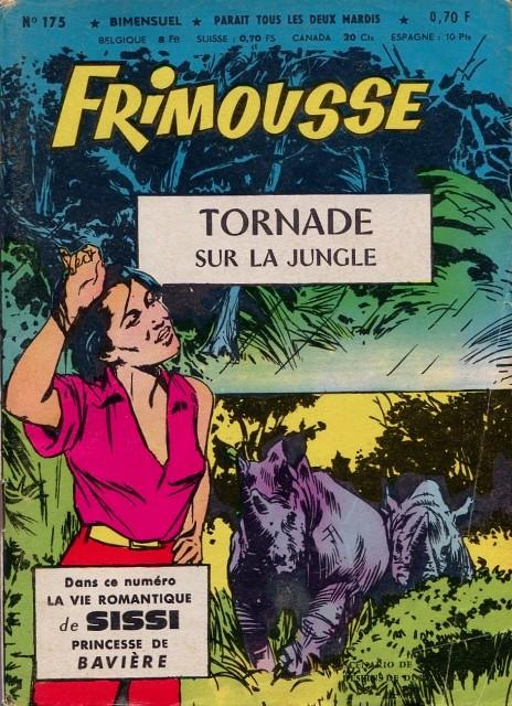 Couverture de Frimousse et Frimousse-Capucine -175- Tornade sur la jungle
