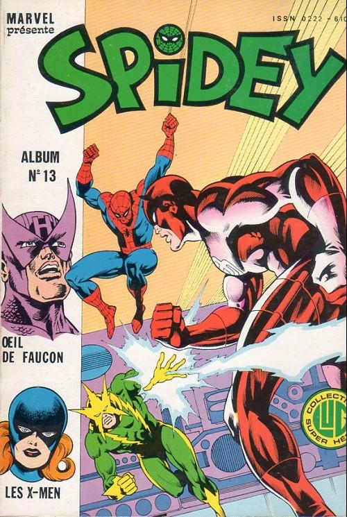 Couverture de Spidey -Rec13- Album N°13 (du n°37 au n°39)