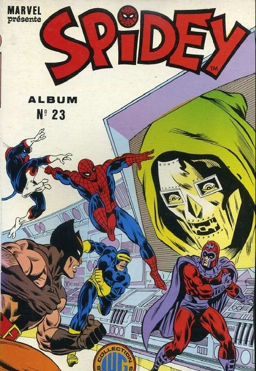 Couverture de Spidey -Rec23- Album N°23 (du n°67 au n°69)