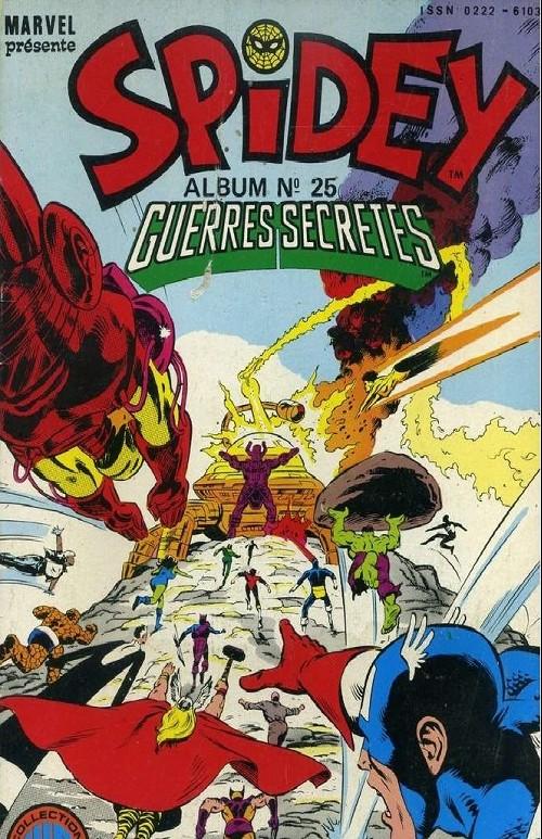 Couverture de Spidey -Rec25- Album N°25 (du n°73 au n°75)