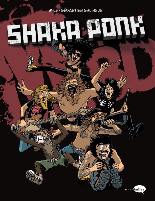 Couverture de Shaka Ponk - Shaka Ponk - Monkey BD