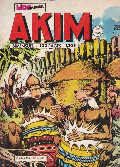 Couverture de Akim (1re série) -345- Barbouze-partie