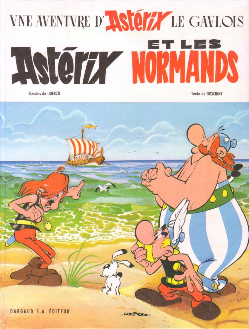 Couverture de Astérix -9- Astérix et les Normands