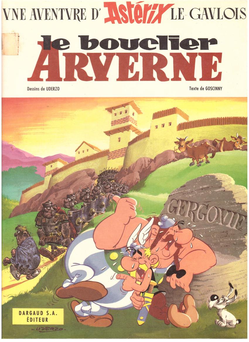Couverture de Astérix -11- Le bouclier Arverne