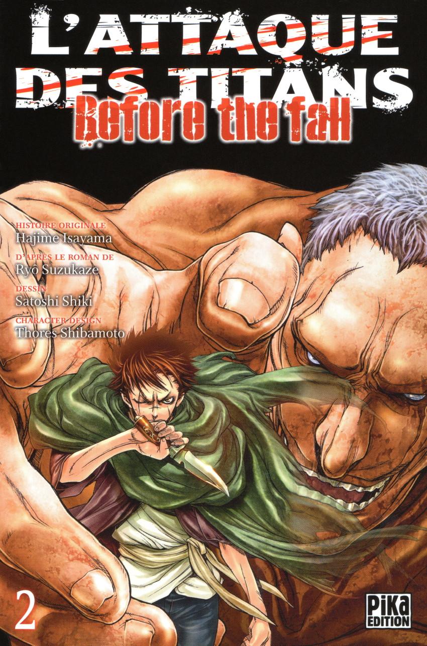 Couverture de L'attaque des Titans - Before The Fall -2- Tome 2