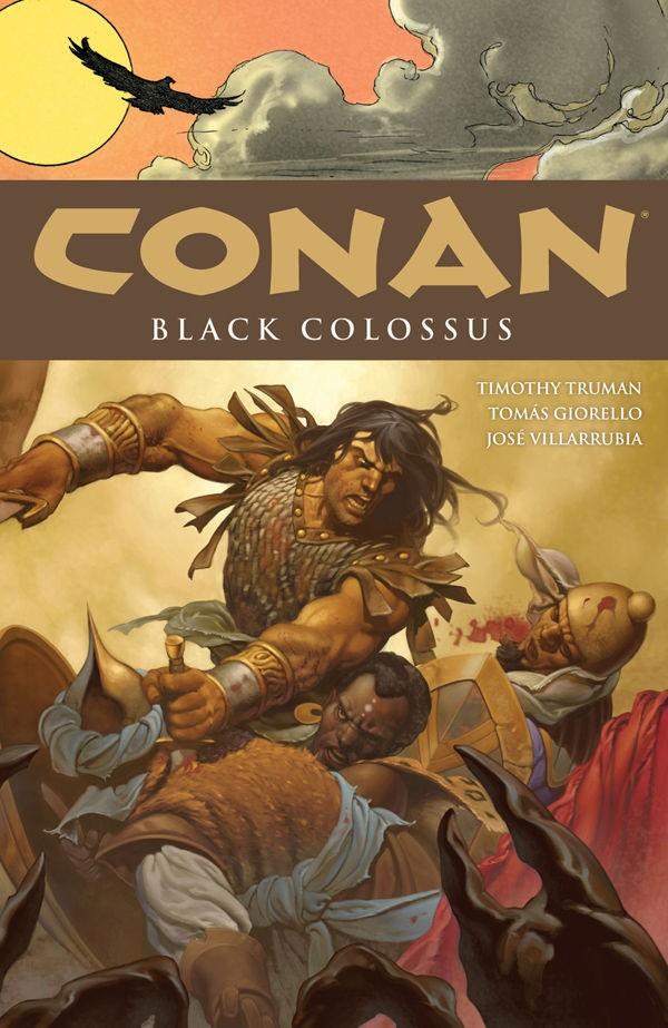 Couverture de Conan the Cimmerian (2008) -INT08- Black Colossus