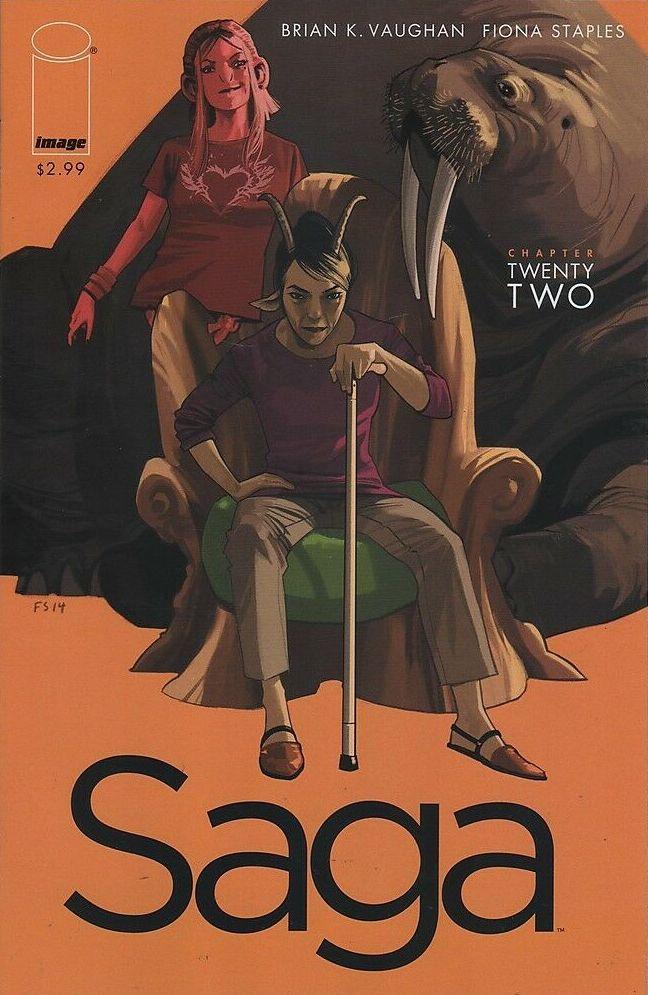 Couverture de Saga (Image comics - 2012) -22- Chapter twenty two