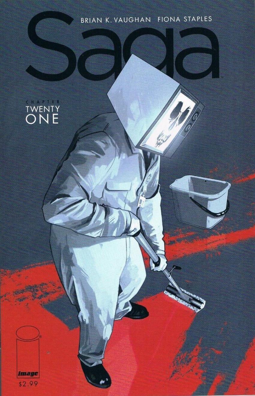 Couverture de Saga (Image comics - 2012) -21- Chapter twenty one