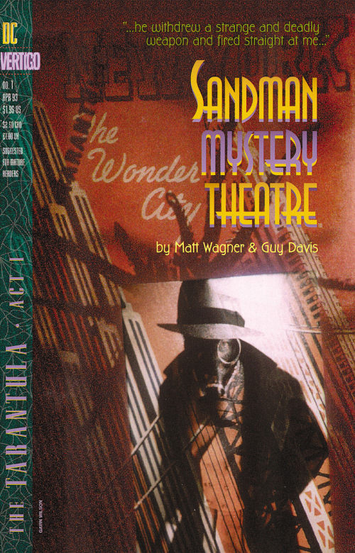 Couverture de Sandman Mystery Theatre (1993) -1- The Tarantula: Act One