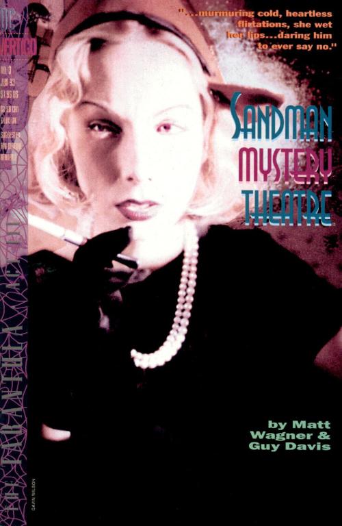 Couverture de Sandman Mystery Theatre (1993) -3- The Tarantula: Act Three