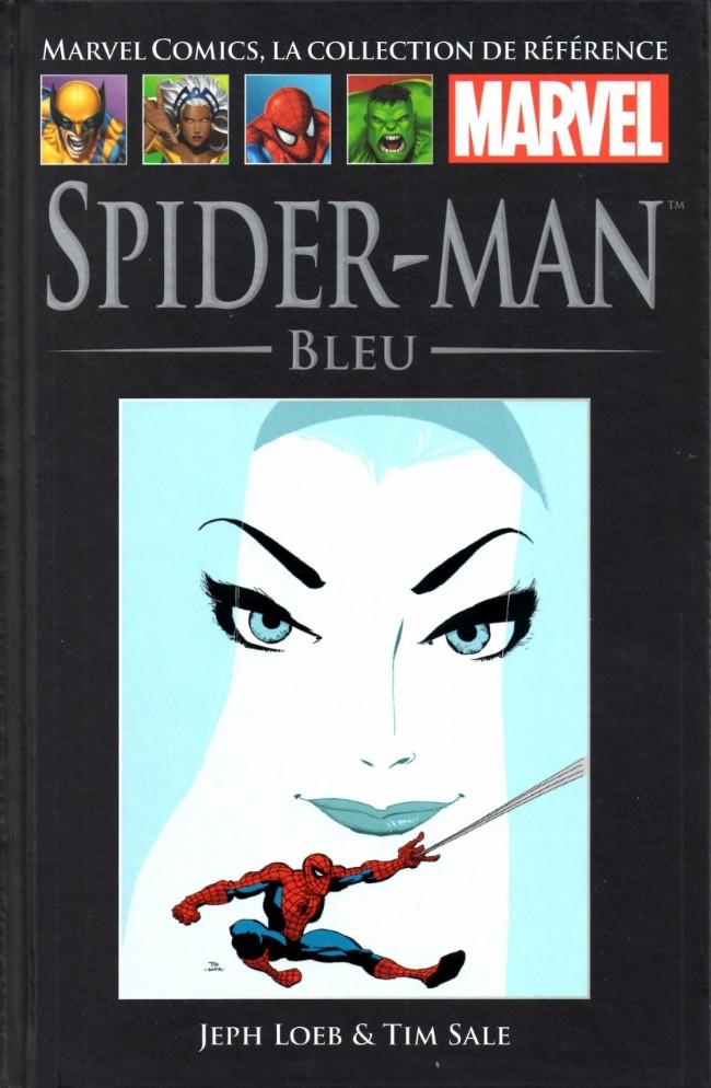 Couverture de Marvel Comics - La collection (Hachette) -1928- Spider-Man - Bleu