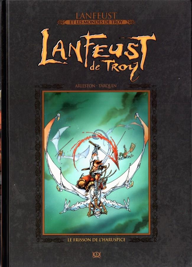 Couverture de Lanfeust et les mondes de Troy - La collection (Hachette) -5- Lanfeust de Troy - Le Frisson de l'Haruspice