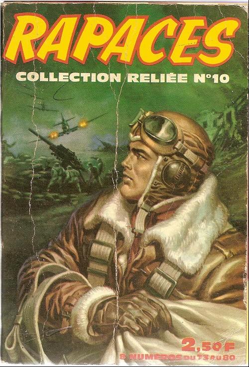 Couverture de Rapaces (Impéria) -Rec10- Collection reliée N°10 (du n°73 au n°80)