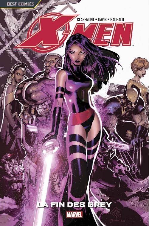 Couverture de X-Men (Best Comics) -6- La fin des grey