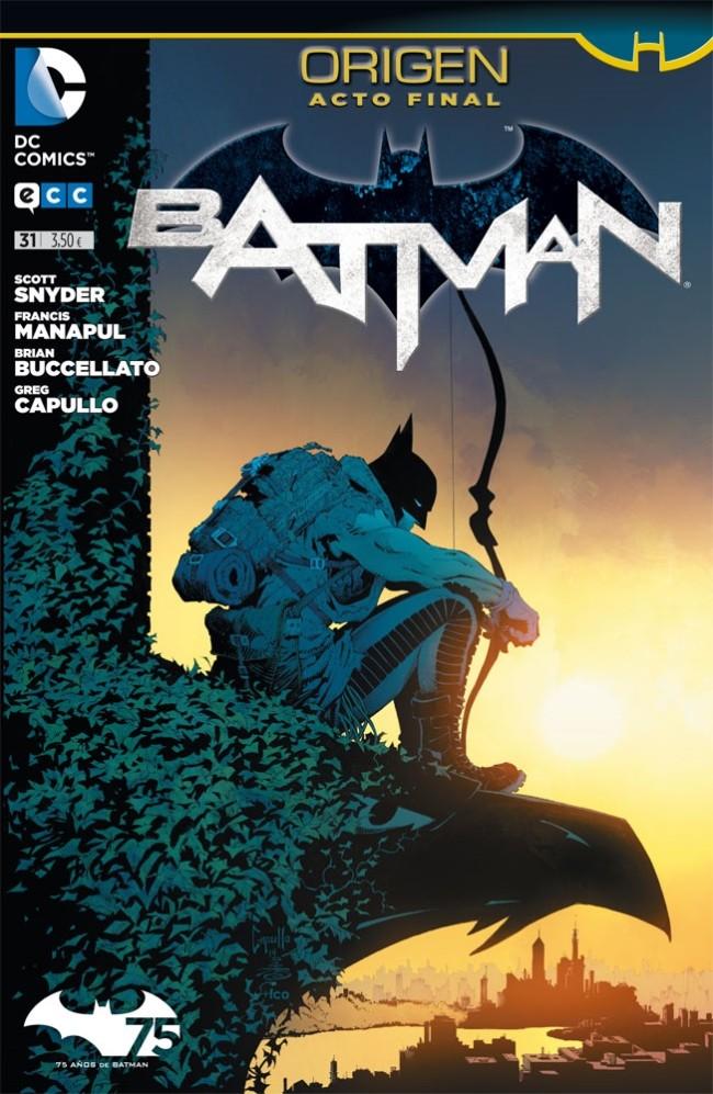 Couverture de Batman (en espagnol) -31- Origen. Acto Final