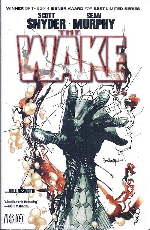 Couverture de Wake (The) (2013) -INT- The Wake