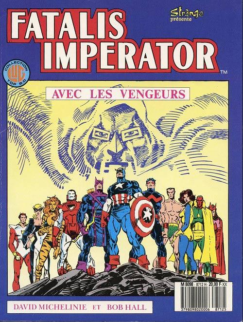 Couverture de Top BD -12- Les Vengeurs - Fatalis Imperator