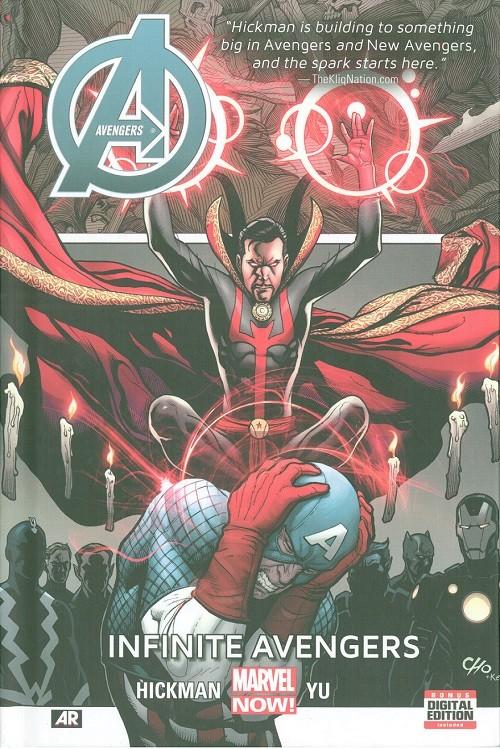 Couverture de Avengers Vol.5 (Marvel comics - 2013) -INT06- Infinite Avengers