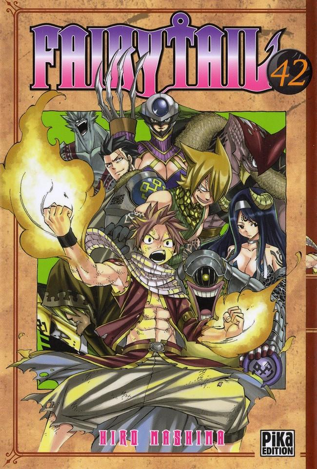 Couverture de Fairy Tail -42- Tome 42