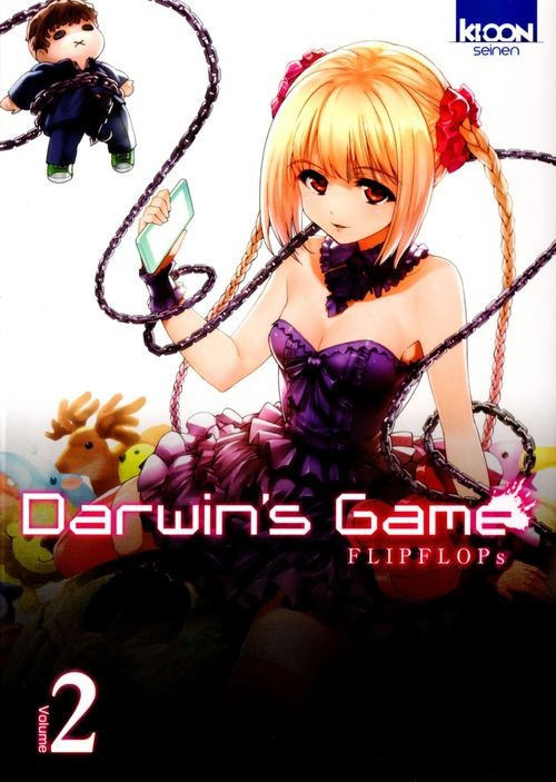 Couverture de Darwin's Game -2- Tome 2