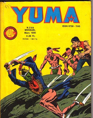 Couverture de Yuma (1re série) -269- Devil Mask