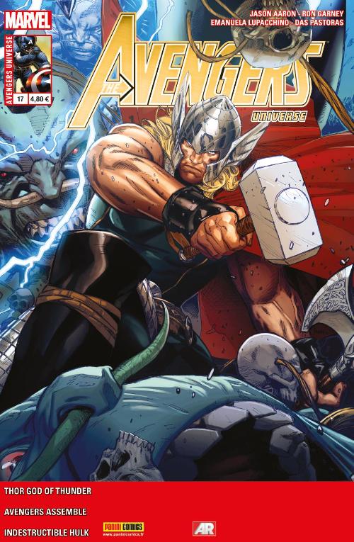 Couverture de Avengers Universe (1re série - 2013) -17- Une époque de vins et dragons