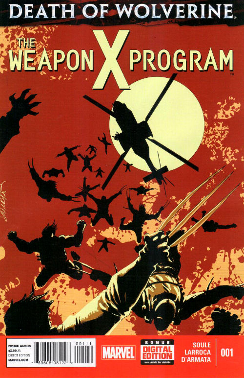 Death of Wolverine: The Weapon X Program (2015) - 5 tomes