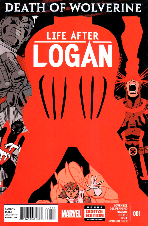 Couverture de Death of Wolverine: Life After Logan (2015) -1- Issue 1