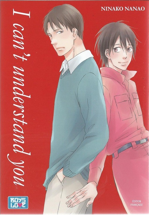 Couverture de I can't understand you