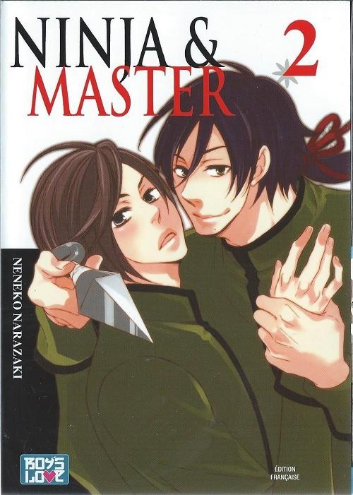 Couverture de Ninja & Master -2- Tome 2