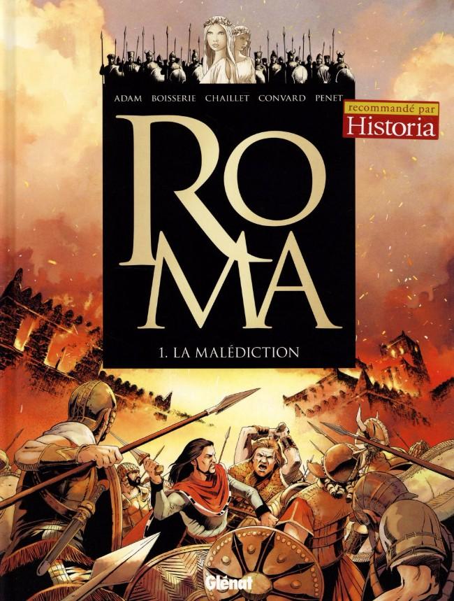 Couverture de Roma -1- La malédiction