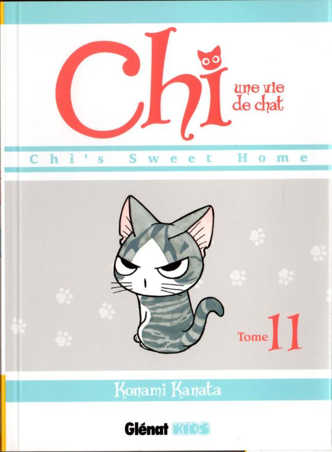 Couverture de Chi - Une vie de chat (format manga) -11- Tome 11