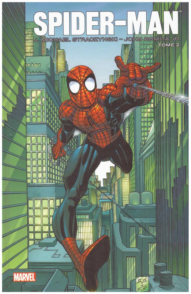 Couverture de Spider-Man (Marvel Icons) -2- Spider-Man - Romita Jr -Tome 2