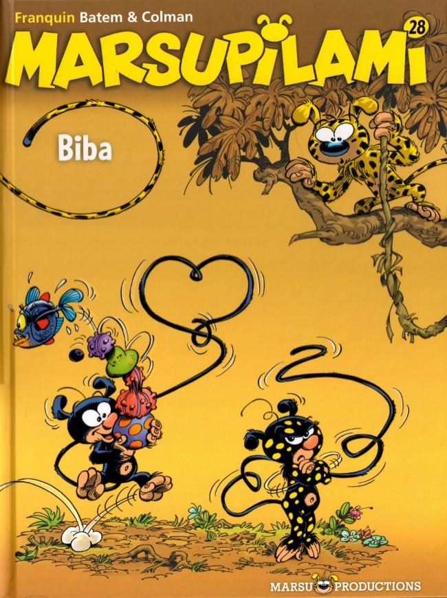 Couverture de Marsupilami -28- Biba
