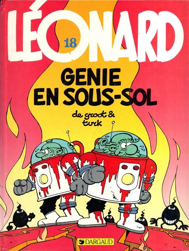 Couverture de Léonard -18- Génie en sous-sol