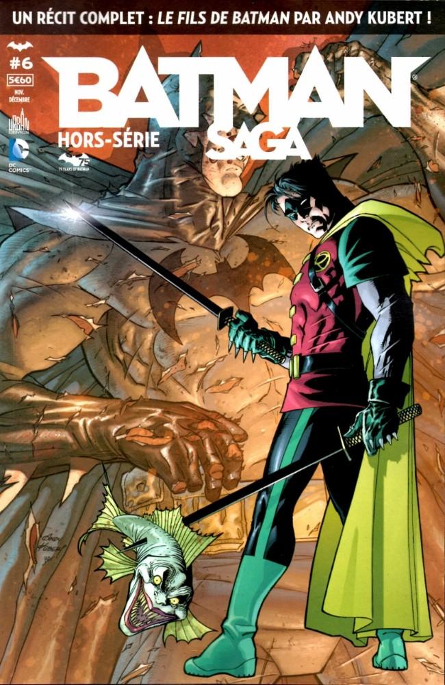 Couverture de Batman Saga -HS06- Le fils de Batman