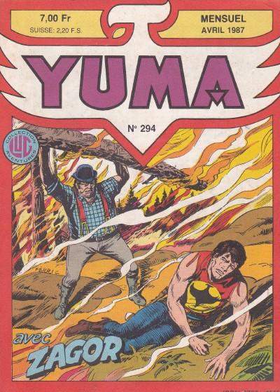 Couverture de Yuma (1re série) -294- Zagor - Zagor en prison