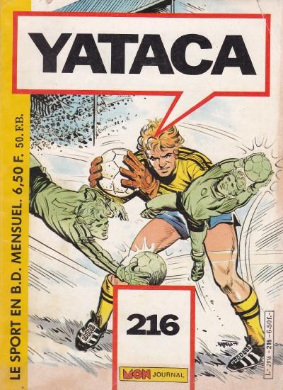 Couverture de Yataca (Fils-du-Soleil) -216- Goal keeper - Mauvais présages