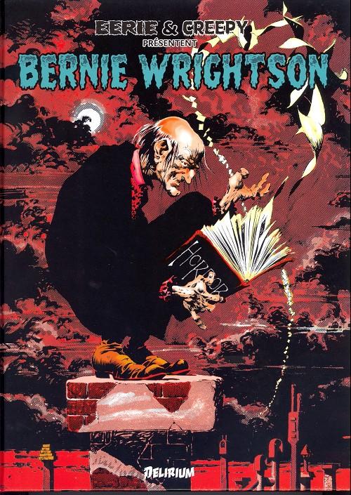 Couverture de Eerie et Creepy présentent Bernie Wrightson