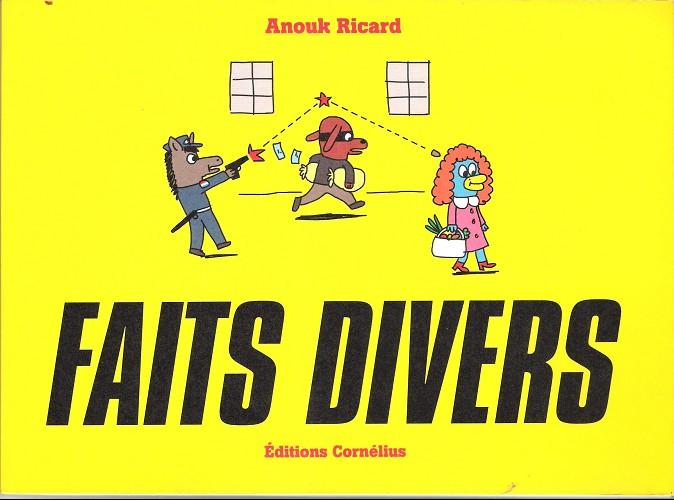 Couverture de Faits divers (Cornélius) -1- Faits divers