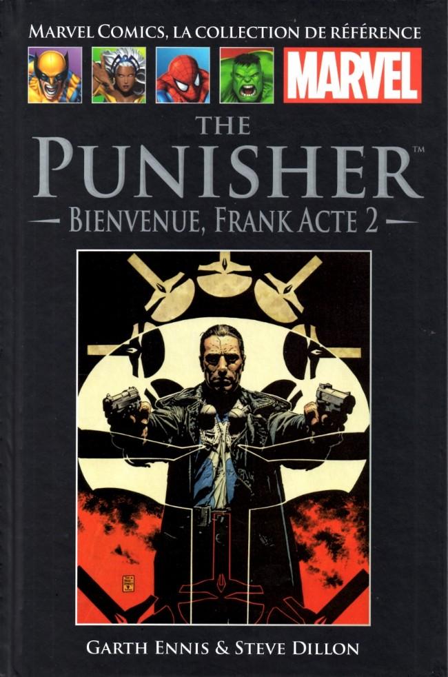 Couverture de Marvel Comics - La collection (Hachette) -2022- The Punisher - Bienvenue Frank acte 2
